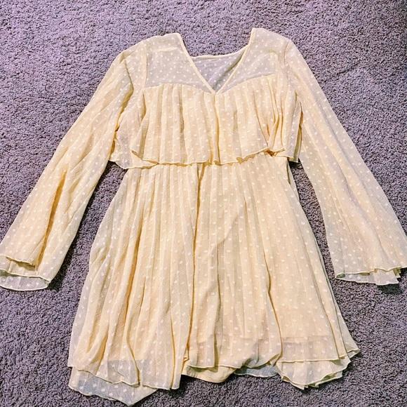 ASOS Yellow Detail Dress